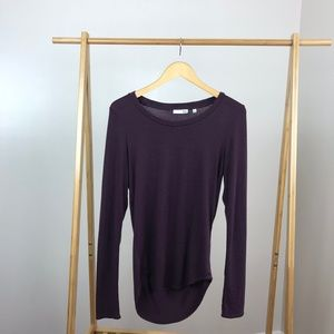 Aritzia Wilfred Free • Diapason T-Shirt Long Large